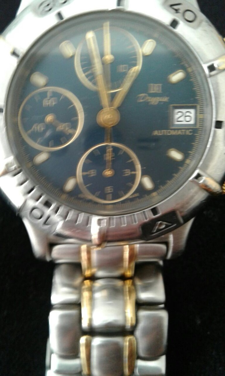 eb55f14ad8b relogio de pulso masculino dryzun joalheiros em ouro 18 k. Carregando zoom.