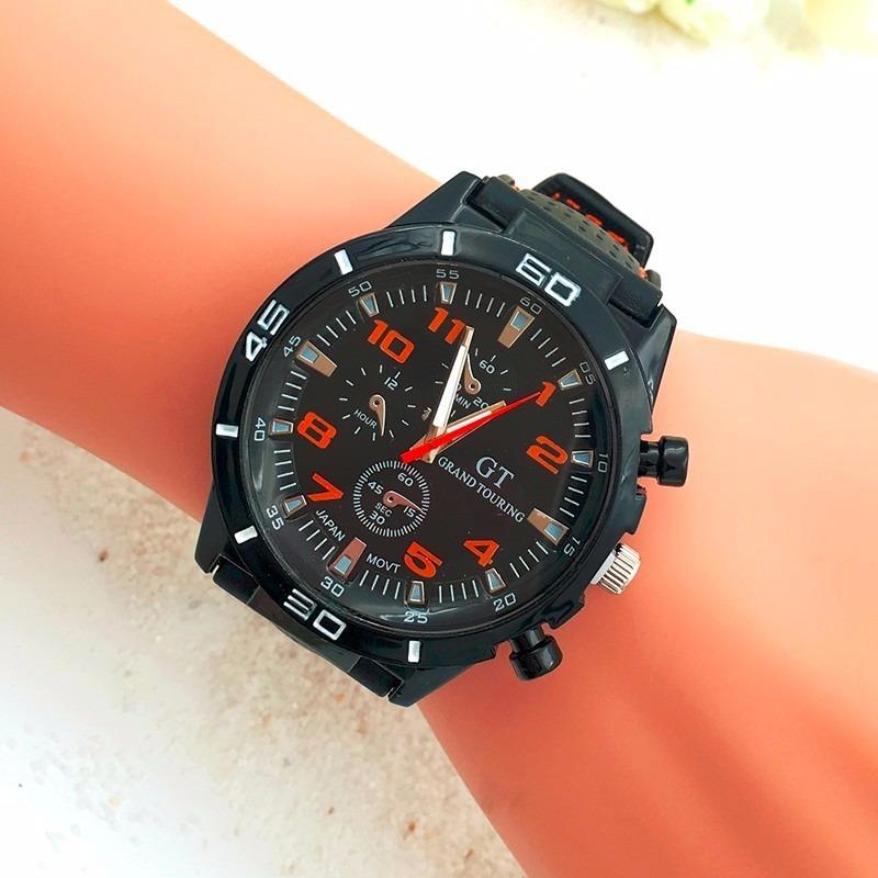 5f95552f024 relógio de pulso masculino homem esportivo gt gran touring. Carregando zoom.