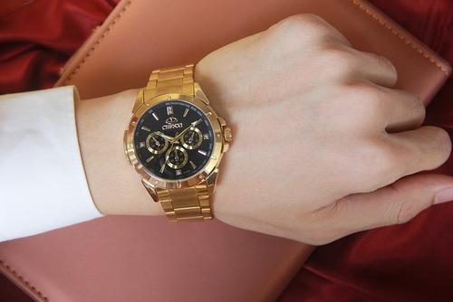 relógio de pulso masculino luxo clássico analógico chenxi