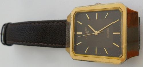 relógio de pulso masculino orient vx quartz japan coleção