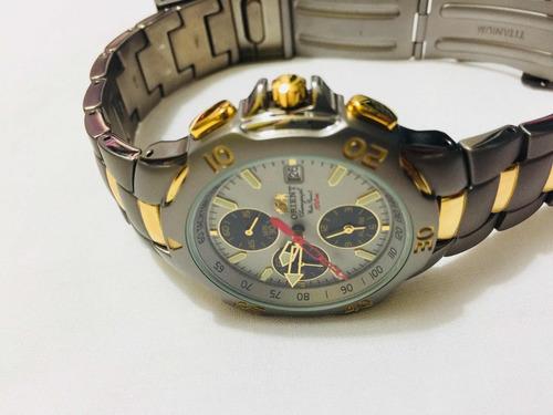 relógio de pulso masculino original orient. 19 cm . tela 4cm