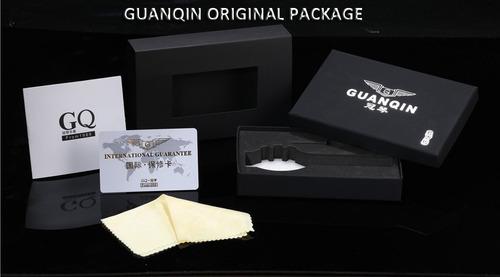 relógio de pulso masculino pulseira aço inox marca guanqin