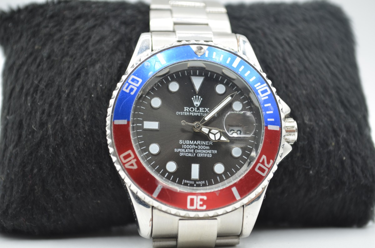 91f09bbc0ea relógio de pulso masculino rolex oyster submariner. Carregando zoom.