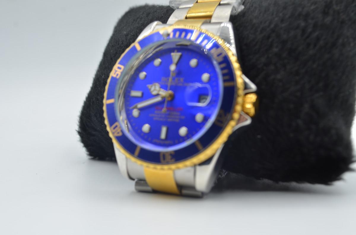 889c267c8a0 relógio de pulso masculino rolex oyster submariner luxo. Carregando zoom.