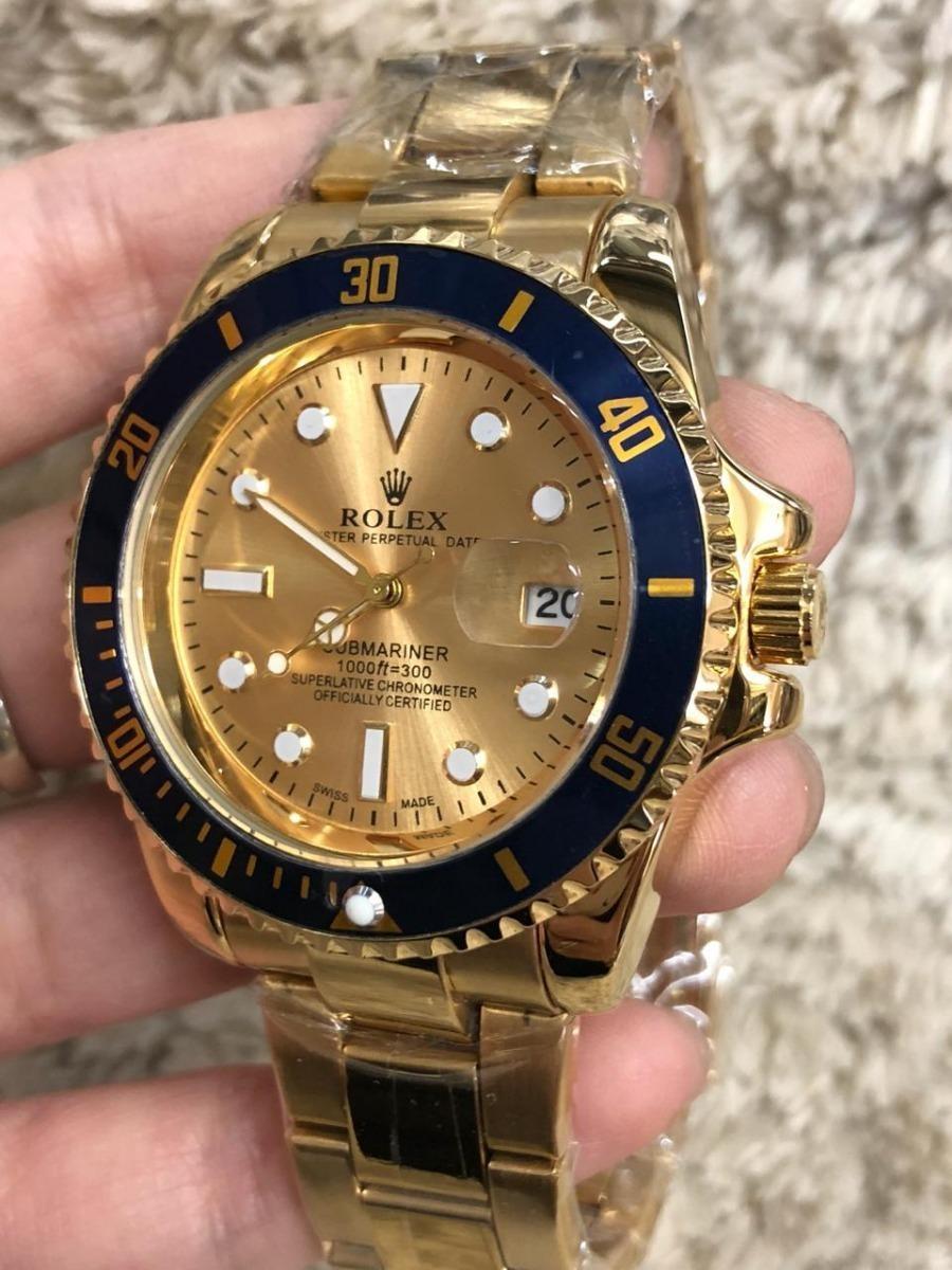 7f83a1890a6 relógio de pulso masculino rolex submariner -importado. Carregando zoom.