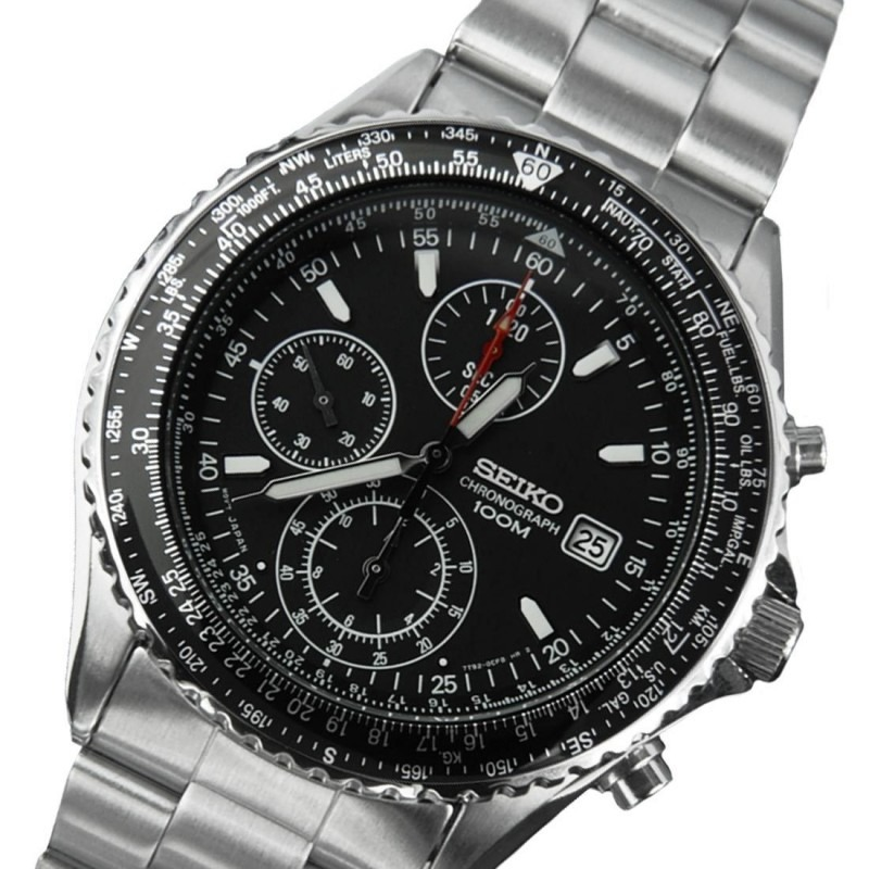 cedfccb6153 relógio de pulso masculino seiko snd253p1 chronograph watch. Carregando zoom .