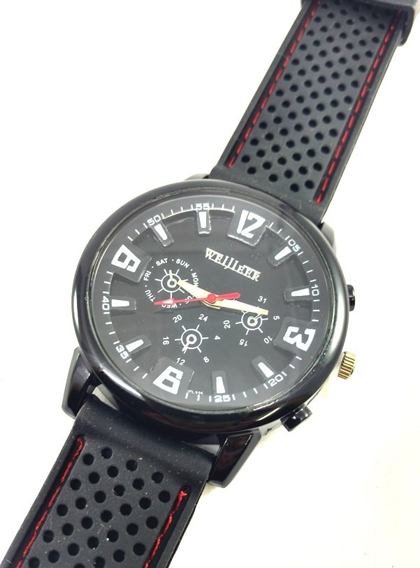 422812313d2 relógio de pulso masculino sport estilo militar aviador. Carregando zoom.
