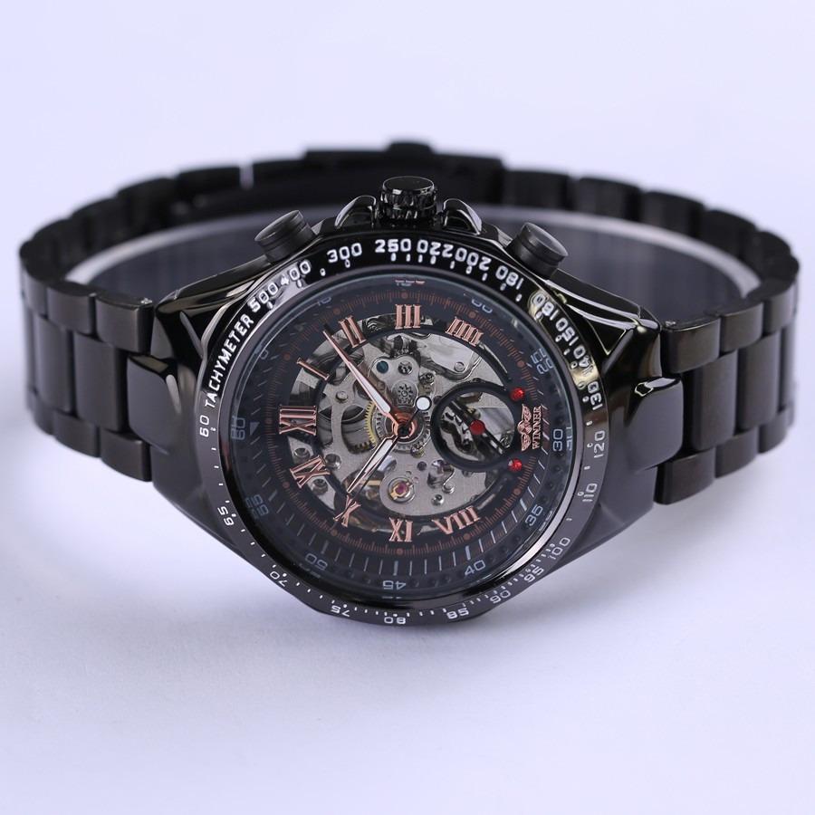 0e17c81d844 relógio de pulso mecânico artesanal maquinário feito a mão. Carregando zoom.