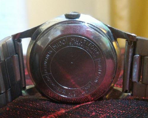 relógio de pulso mido multifort