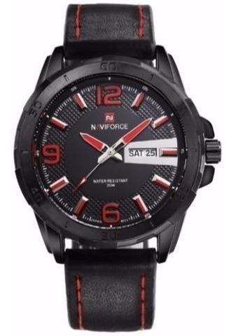 relógio de pulso naviforce nf9055 + frete grátis