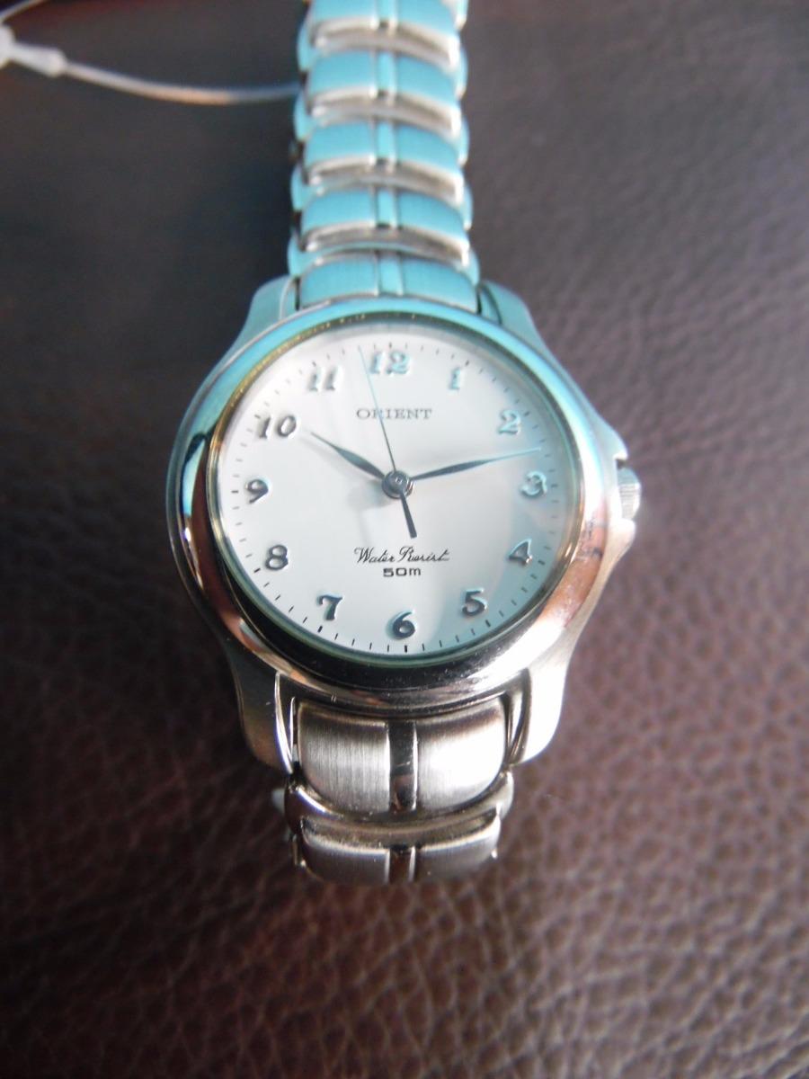 96acdf7f74a relógio de pulso - orient - water resist 50m. Carregando zoom.