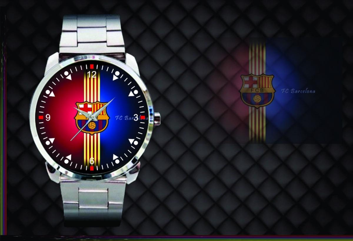 cae2abc56c8 relógio de pulso personalizado barcelona futebol clube. Carregando zoom.