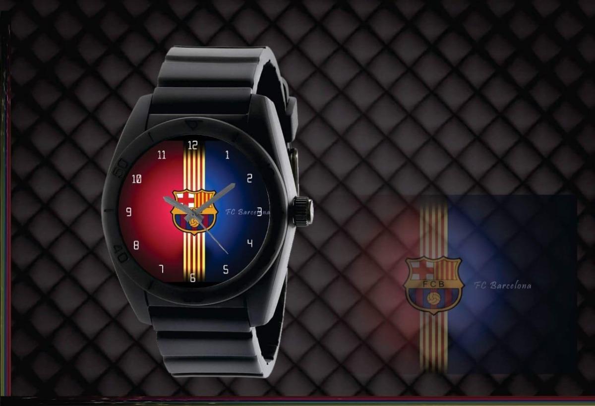 5dbab361725 relógio de pulso personalizado barcelona futebol clube infan. Carregando  zoom.