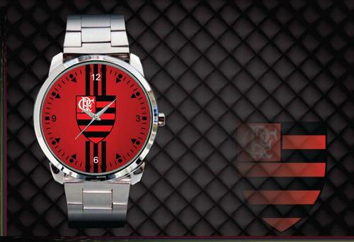 relógio de pulso personalizado flamengo mengão nação fla