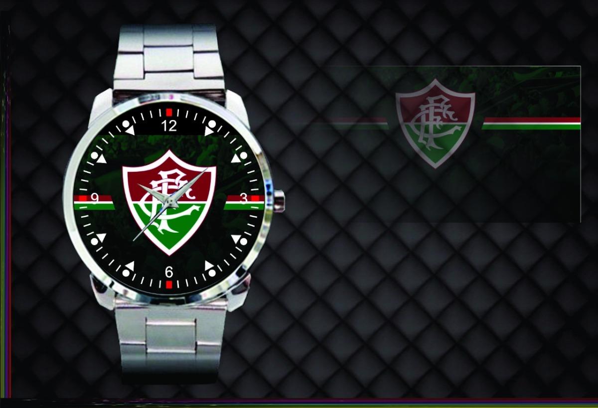 relógio de pulso personalizado fluminense football club. Carregando zoom. c811c317f9972