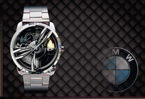 relógio de pulso personalizado painel roda carro - cod.1129