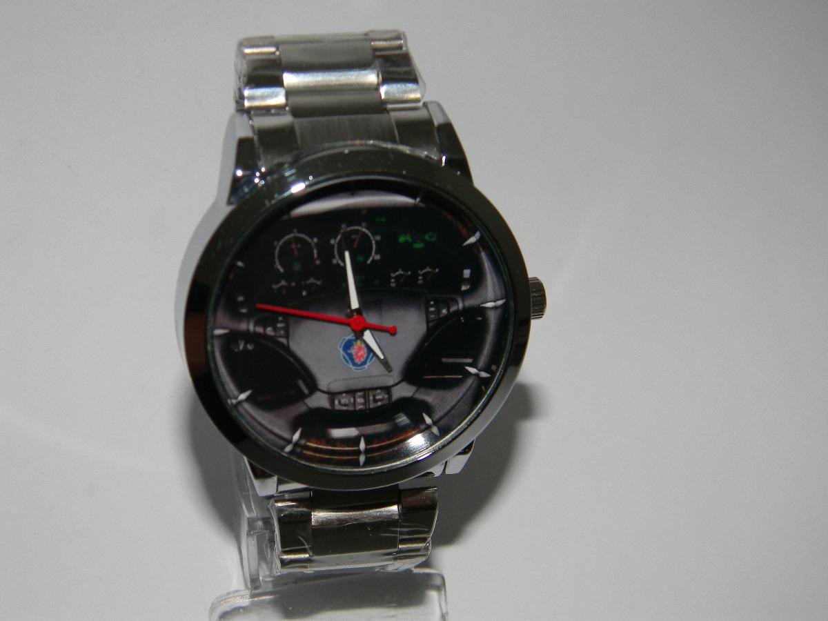 ba08d93db86 relógio de pulso personalizado painel scania caminhão carga. Carregando  zoom.
