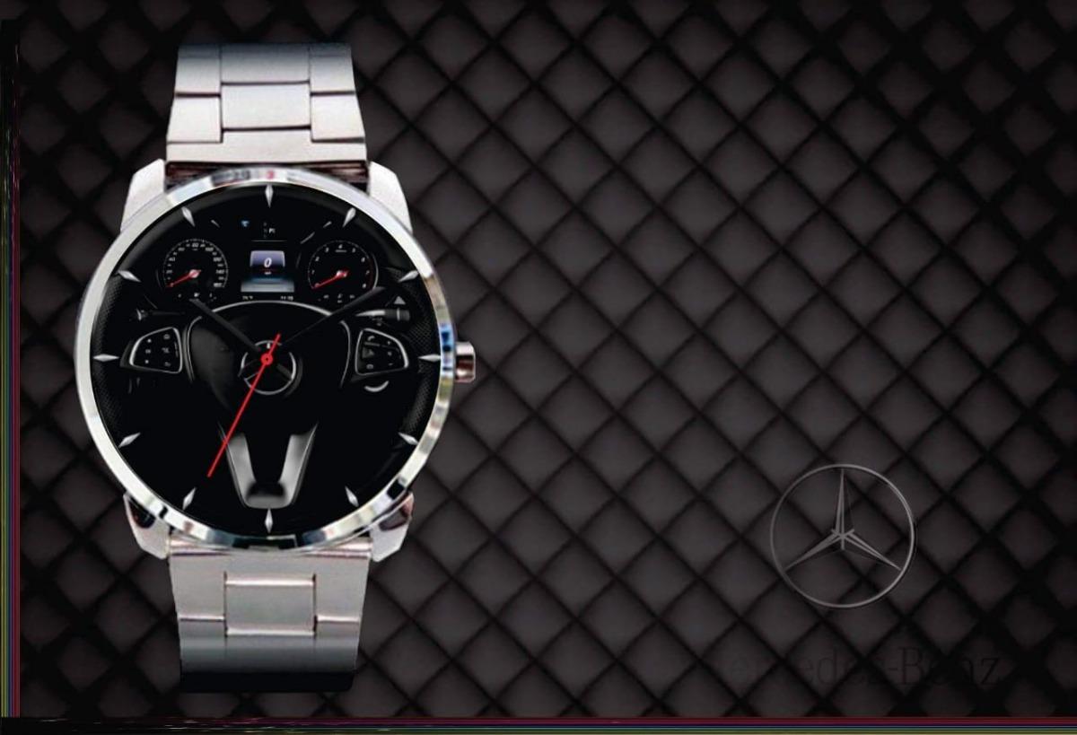 229176dabbe relógio de pulso personalizado painel volante mercedes benz. Carregando  zoom.