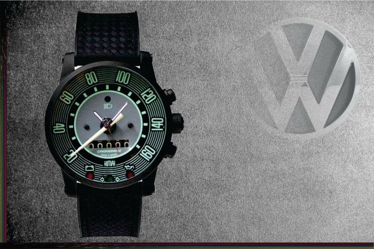 46b842e9c Relógio De Pulso Personalizado Painel Volks Variant Ii 160km - R$ 84,90 em  Mercado Livre