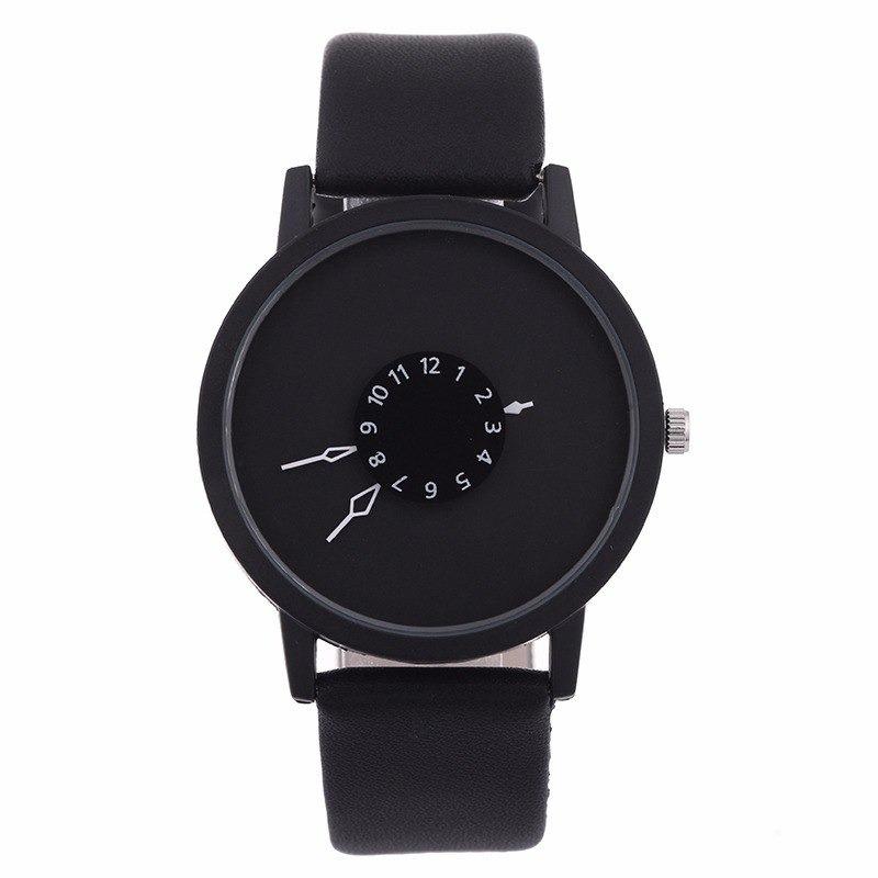 7099420d9e9 relógio de pulso - preto branco dial simplesmente lindo! Carregando zoom.