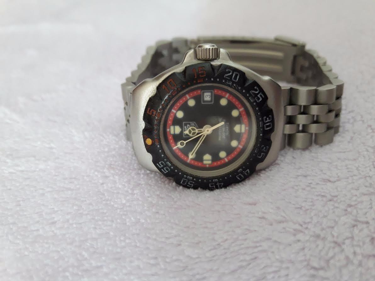 762c5ee073e relógio de pulso pulseira aço feminino original tag heuer. Carregando zoom.