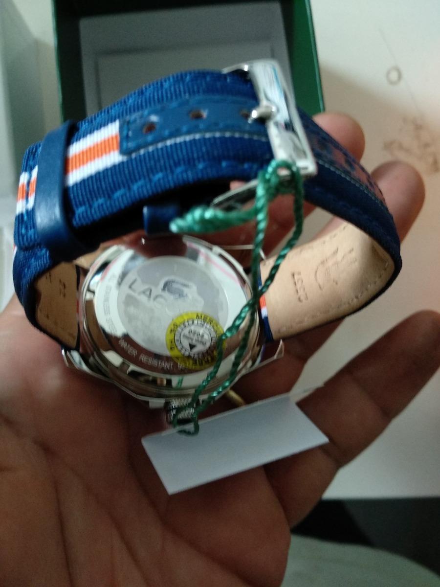 a567ee01d48 relógio de pulso quartz lacoste original. Carregando zoom.