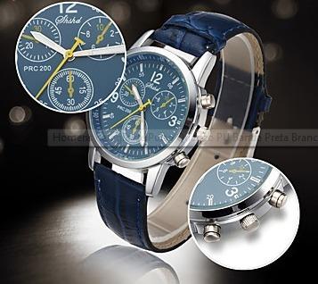 relógio de pulso quartzo promoção oferta