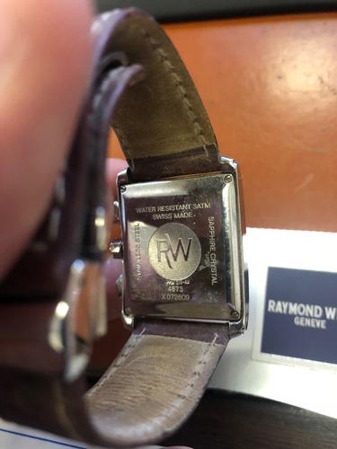 relógio de pulso raymond weil - 4873