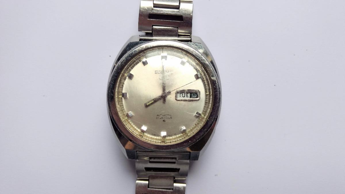 edd1e03e5b5 relógio de pulso seiko 5 antigo década de 1970 100% original. Carregando  zoom.