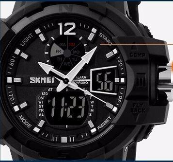 relógio de pulso skmei 1040 preto masculino