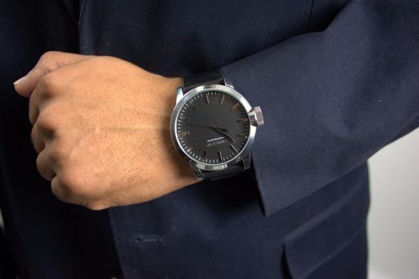 e83847299f8 Relógio De Pulso Social Oversized Wall Street 49mm (black) - R  275 ...