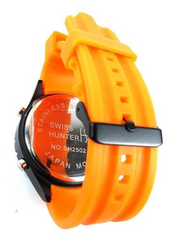 relógio de pulso swiss hunter modelo sh2502