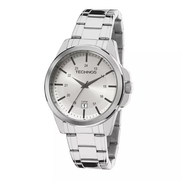 Relógio De Pulso Technos Classic Steel Analógico Masculino P - R ... ca33f52c23
