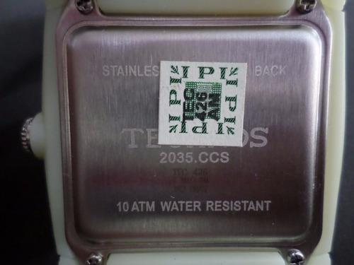 relogio de pulso technos mariner 2035ccs/8p fluorescente nfe