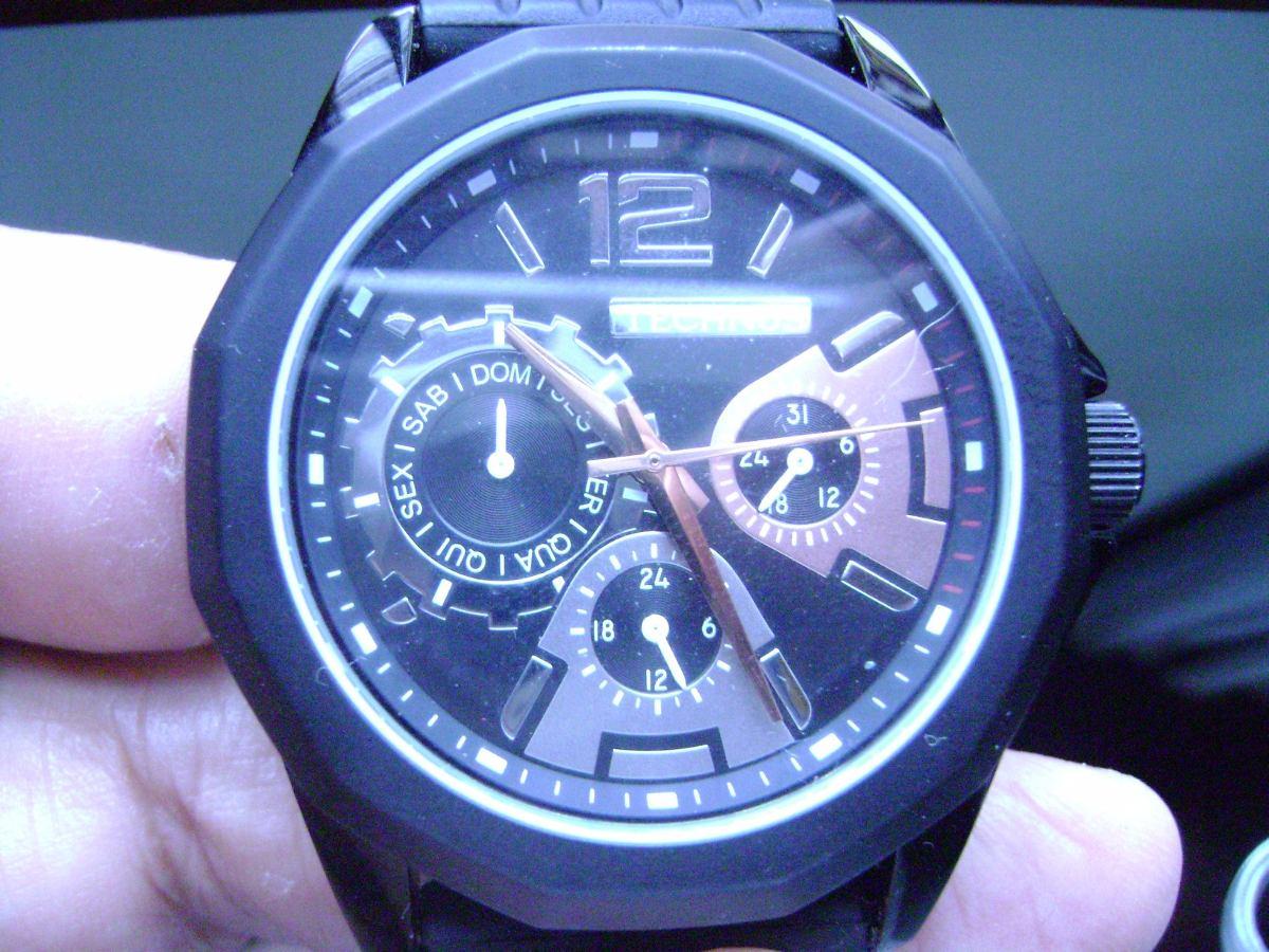 94ac876fd8a relógio de pulso technos semi-novo. Carregando zoom.