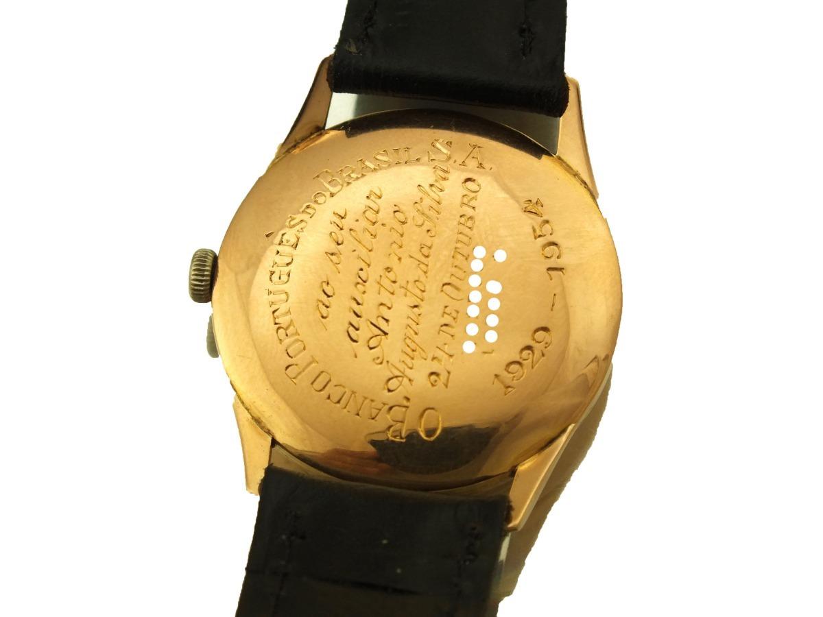 1bab9c0c18a relogio de pulso universal geneve ouro 18k j20013. Carregando zoom.