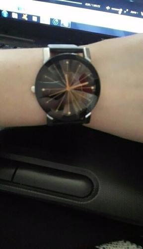 relógio de quartzo masculino senors lindo design