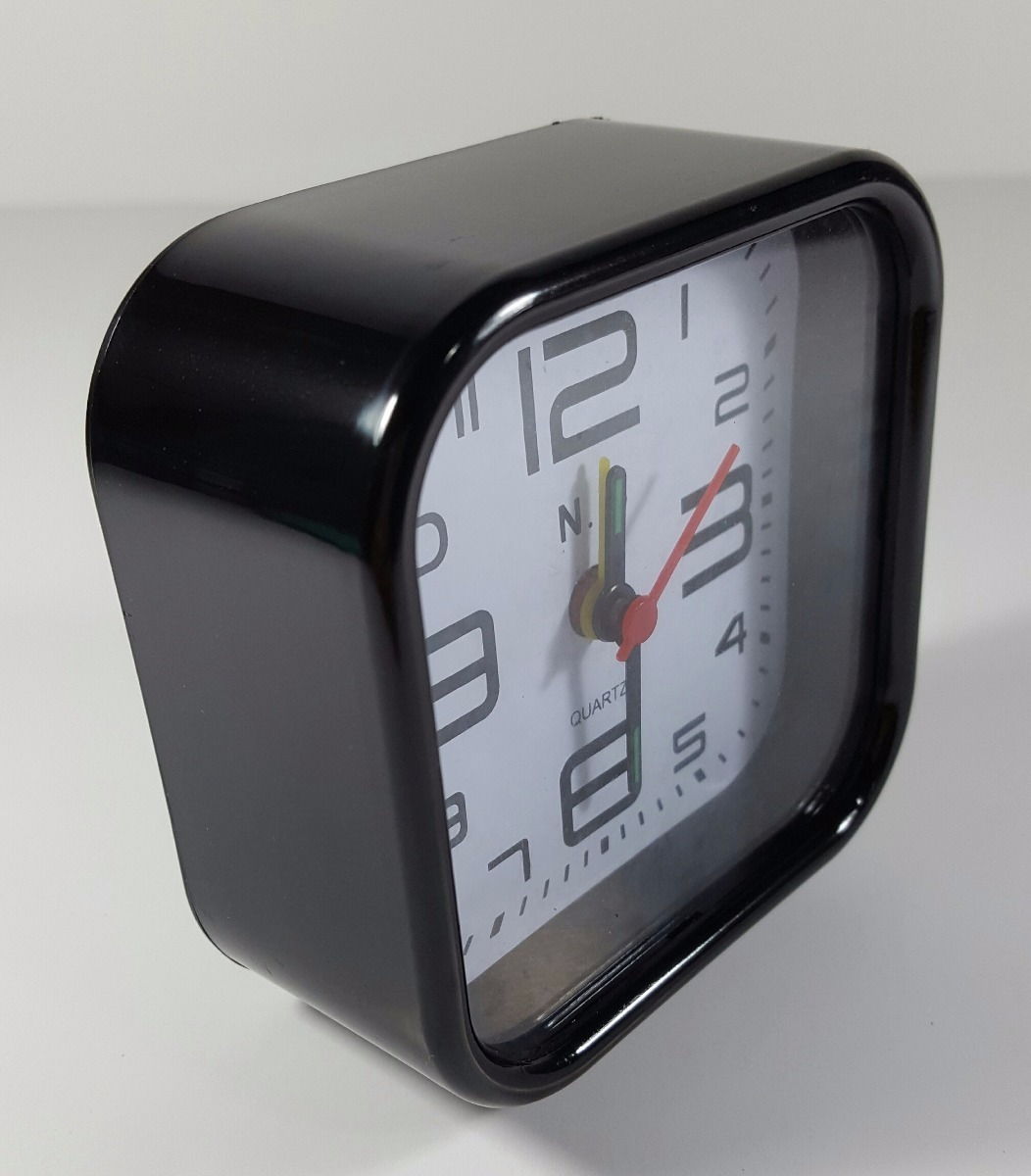 c3091b591bd relógio despertador analógico com som melhor preço. Carregando zoom.