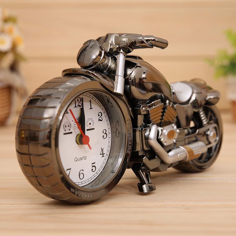 2fe0f618d0a relogio despertador de mesa formato de moto. Carregando zoom.