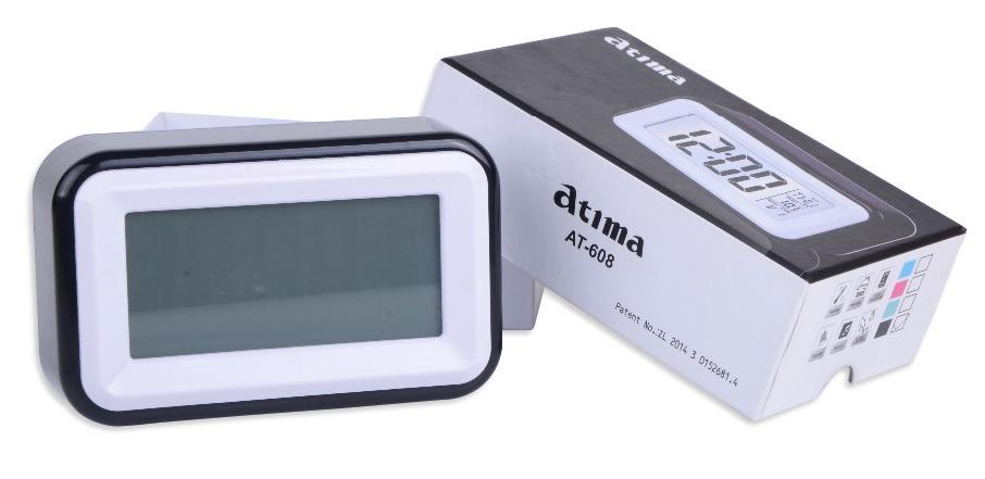 221f004983f Relógio Despertador Digital - Fala Hora E Temperatura Atima - R  35 ...