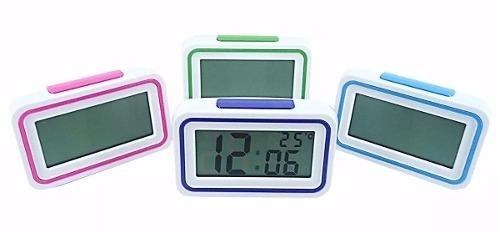 9216ea4ca69 Relógio Despertador Fala Hora Temperatura Deficiente Visual - R  26 ...