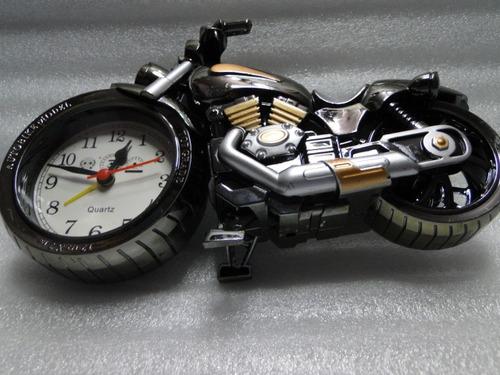 relogio    despertador    motocicleta  harley  davidson