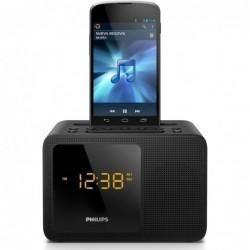 11c72e3d074 Relógio Despertador Philips Ajt5300 37 Bluetooth Usb Bivolt - R  259 ...
