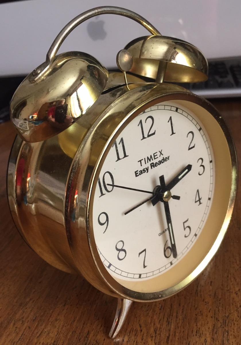 90afe6b60c20 Relógio Despertador Timex - Analógico - Decoração - Retrô - R  60