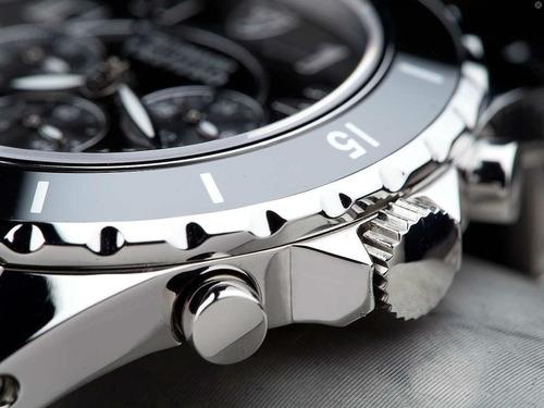relógio detomaso treviso silver black