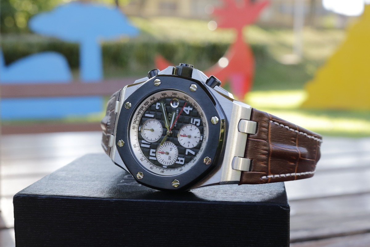 8d3c89b1043 relógio didun design pulseira couro original masculino. Carregando zoom.