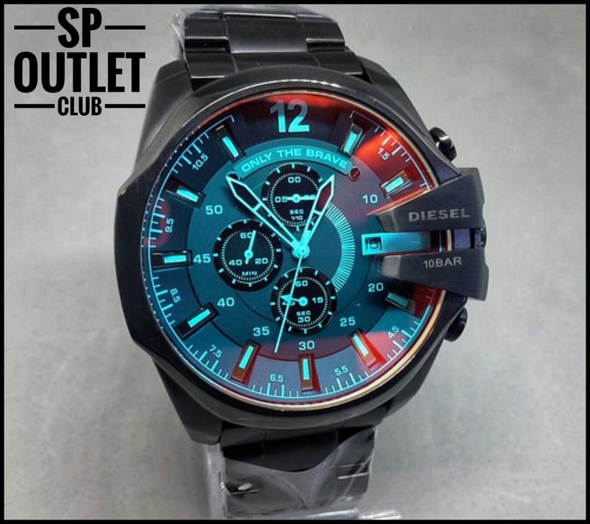 31d4bab467782 Relógio Diesel 10 Bar Camaleão Original! Frete Grátis! - R  499,90 ...