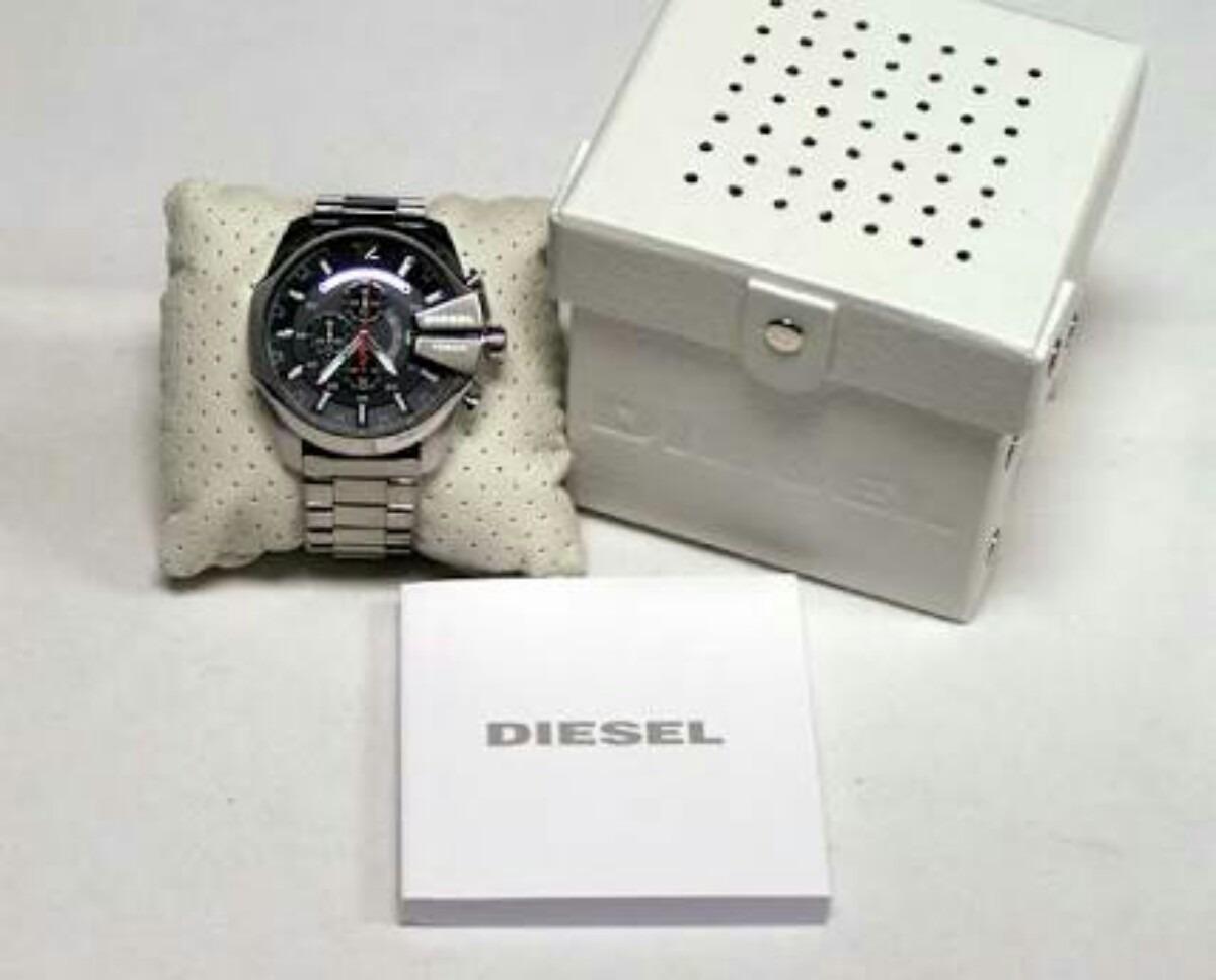 67e9200aeb9 relógio diesel 10bar dz4308 original completo. Carregando zoom.