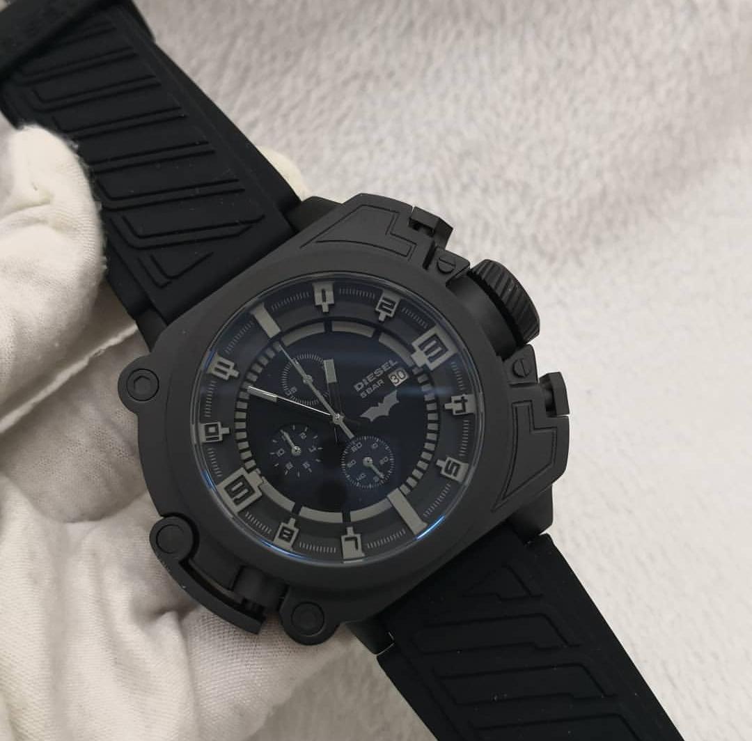 6be504c7b4acb relógio diesel 5 bar batman edicao limitada. Carregando zoom.