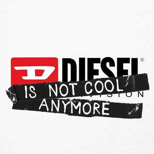 relógio diesel crusher division cinza dz1894/8cn original